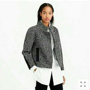 *NWOT*J. CREW Marled Wool Boucle Jacket